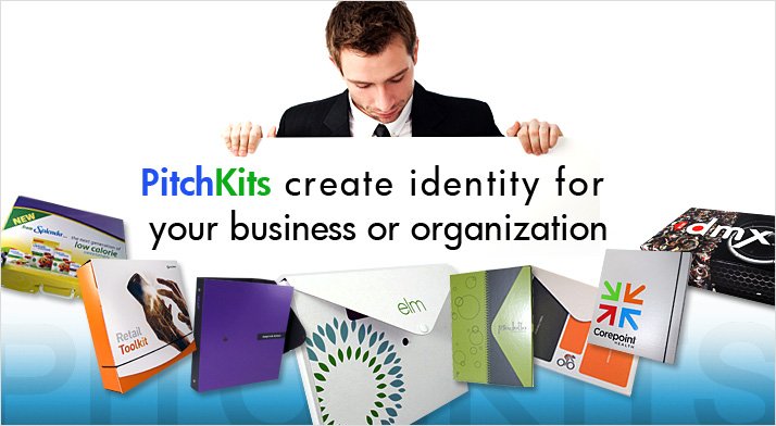 PitchKits create identity for your business or organization